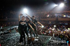 CNBLUE、ワールドツアー「BLUE MOON」から日本アリーナツアー「ONE MORE TIME」へ突入!