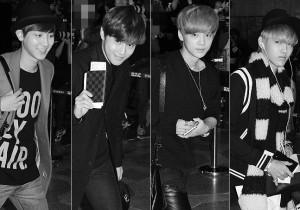 EXOのモテカジ空港ファッション、「SMTOWN LIVE」で日本へ
