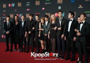BIGBANG、EXO、Trouble Maker、INFINITEらアイドル勢ぞろい「2013 MAMA」レッドカーペット