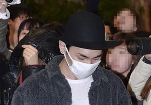 SHINee (Lee Taemin, Choi Minho, Kim Jonghyun, Onew, Key) Departed to Beijing for SHINee Festival Tour - Jan 18, 2014