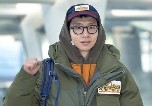 ZEA Kim Dong Jun, Bong Tae Gyu, Lee Young Ah, Lim Won Hee and Seo Ha Joon at Incheon Airport, Heading to Shoot 'SBS Laws of the Jungle' In Borneo - Jan 18, 2014