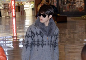 CNBLUE at Gimpo Airport Depart to Japan for the Movie 'The Story of CNBLUE NEVER STOP' - Jan 17, 2014