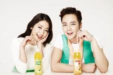 韓国ドラマ『美男<イケメン>ですね!』のチャン・グンソクとパク・シネが共演!中国の飲料水メーカーCMで再会!