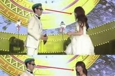 BIGBANGのT.O.P、miss A スジの純白チューブトップドレスに釘付け