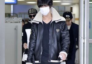 SHINee オンユ、ジョンヒョン、ミンホ、テミン空港ファッション 日本でファンミーティングを終え帰国