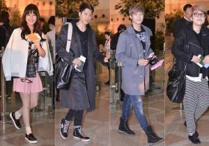 JUNIEL、イ・ドンゴン、N.Flying、ソン・ウニの空港ファッション「FNC Kingdom in Japan」のため出国【写真20枚】