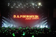 B.A.P.「LIVE ON EARTH」 in パリ レポート