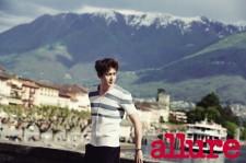 2PMのニックン、「allure KOREA」を異国情緒あふれるスイスで撮影!