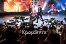 Wonder Girls、f(x) 、東方神起  「MBC Korean Music Wave in Google」ステージ写真