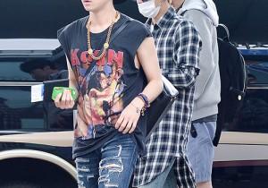 SHINee 『Music Bank Live in Brazil』に向けて出国。韓国仁川(インチョン)空港でのメンバーの空港ファッション【写真22枚】