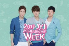 JYJ「2014 JYJ MEMBERSHIP WEEK」の開催決定!