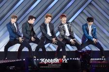 U-KISS、ダンディーに「DREAM CONCERT 2014」に登場!