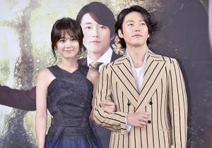 チャン・ヒョク、チャン・ナラと腕を組んで笑顔!ドラマ「運命のように君を愛してる」制作発表会に出席