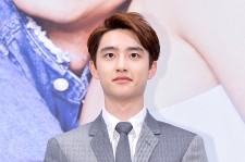 EXO D.O. 少し硬い表情で登場!ドラマ『大丈夫、愛だ』制作発表会に登場
