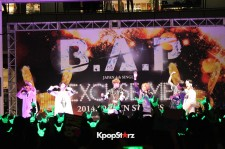B.A.P、9月3日に川崎ラゾーナでフリーライブを開催!ファン熱狂【写真】