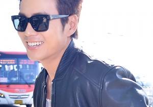 チュ・サンウク、革ジャンを着こなしイケメン空港ファッション!ドラマプロモーションのためタイへ出国